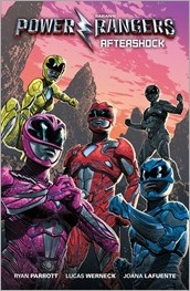 Saban's Power Rangers: Aftershock Cover - Diamond Previews Exclusive  by Greg Smallwood