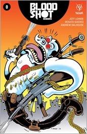 Bloodshot Reborn #0 Cover - Bagge Variant