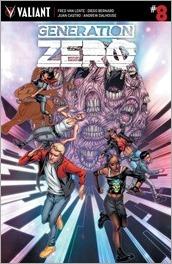 Generation Zero #8 Cover A - Evans