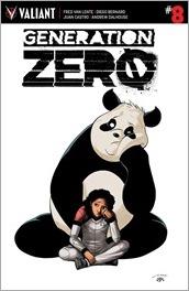 Generation Zero #8 Cover - Perez Variant