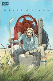 Grass Kings #1 Cover C - Staples Unlocked Variant