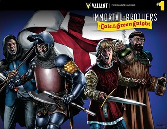 Immortal Brothers: The Tale of The Green Knight #1 Cover B - Suayan