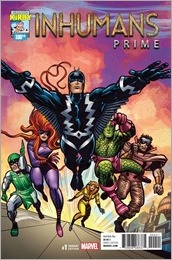 Inhumans Prime #1 Cover - Kirby 100th Anniversary Variant