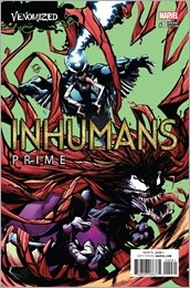 Inhumans Prime #1 Cover - Stegman Venomized Variant