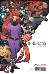 Inhumans Prime #1 Cover - Torque Connecting Variant
