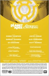 Planet of the Apes/Green Lantern #2 Preview 1