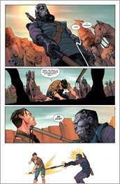 Planet of the Apes/Green Lantern #2 Preview 3