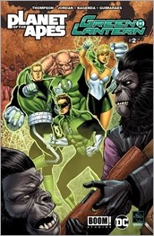 Planet of the Apes/Green Lantern #2 Cover A