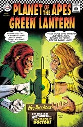 Planet of the Apes/Green Lantern #2 Cover B - Rivoche Classic Variant