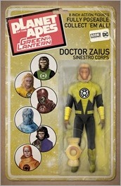 Planet of the Apes/Green Lantern #2 Cover E - Robinson Action Figure Variant