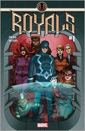 Royals #1 Cover - McCaffrey Variant