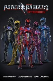 Saban's Power Rangers: Aftershock Cover A