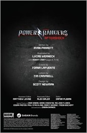 Saban's Power Rangers: Aftershock Preview 1