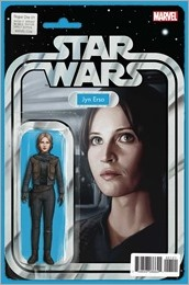 Star Wars: Rogue One Adaptation #1 Cover - Christopher Action Figure Variant