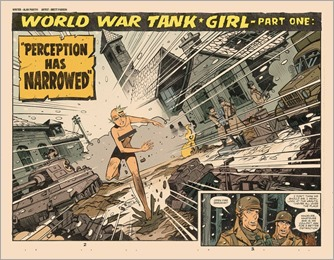 Tank Girl: World War Tank Girl #1 Preview 2