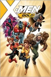 X-Men Gold #1 Cover