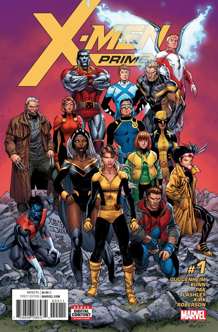 X Men Characters Comic First Look: X-Men Prim...