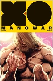 X-O Manowar #2 Cover - Andrews Variant
