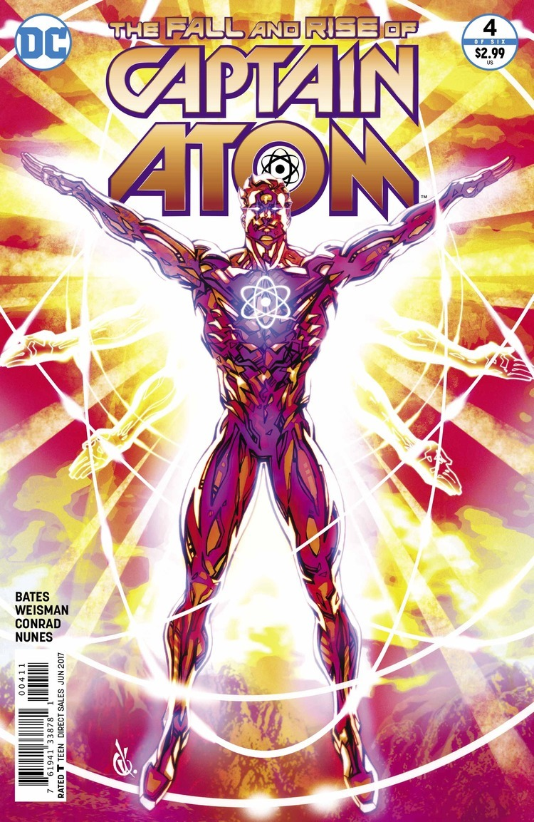 preview  the fall and rise of captain atom  4 by bates