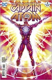 The Fall and Rise of Captain Atom #4 Cover