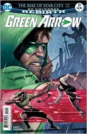 Green Arrow #21 Cover