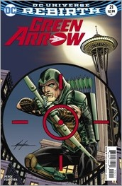 Green Arrow #21 Cover - Grell Variant