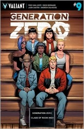 Generation Zero #9 Cover B - Peeples