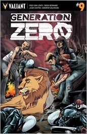 Generation Zero #9 Cover - Mooney Variant