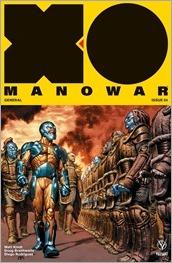 X-O Manowar #4 Cover A - LaRosa