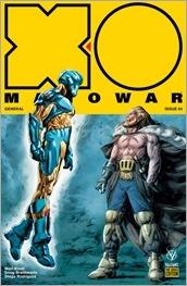 X-O Manowar #4 Cover - Braithwaite Pre-Order