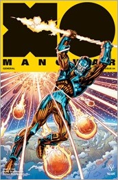 X-O Manowar #4 Cover - Layton Icon