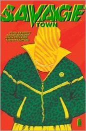 Savage Town OGN Cover