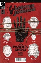 Lobster Johnson: The Pirate's Ghost #3 Cover