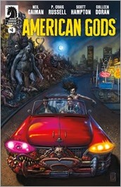 American Gods: Shadows #4 Cover - Fabry