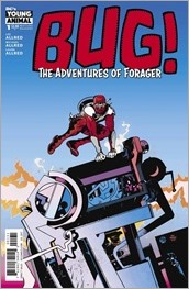 Bug!: The Adventures of Forager #1 Cover - Pope Variant