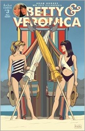 Betty & Veronica By Adam Hughes #3 Cover - Rivera Variant