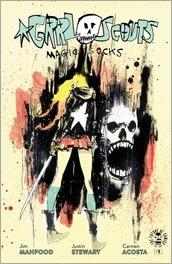 Grrl Scouts: Magic Socks #1 Cover