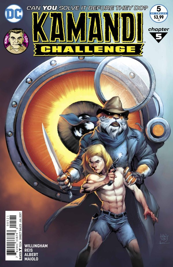 preview  the kamandi challenge  5 by willingham  u0026 reis  dc