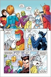 Legion of Super-Heroes/Bugs Bunny Special #1 Preview 4