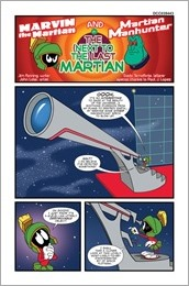 Martian Manhunter/Marvin The Martian Special #1 - Backup Preview 1