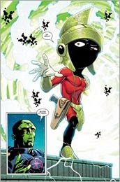 Martian Manhunter/Marvin The Martian Special #1 Preview 4