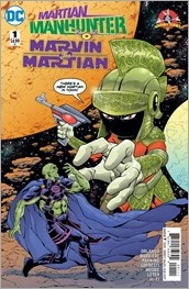 Martian Manhunter/Marvin The Martian Special #1 Cover