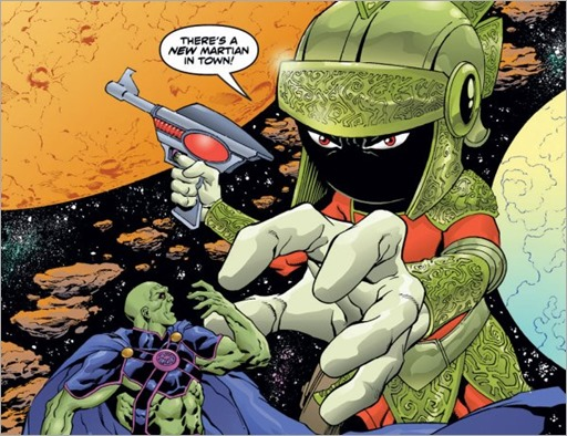 Martian Manhunter/Marvin The Martian Special #1