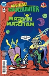 Martian Manhunter/Marvin The Martian Special #1 Cover - DeStefano Variant