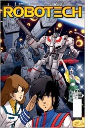 Robotech #1 Cover E - Waltrip Bros