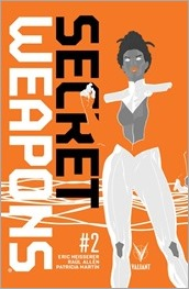 Secret Weapons #2 Cover A - Allen