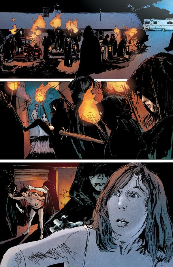 Cool Image Comics Gets Two More Printings Out Of The Door Regression 1 By Cullen Bunn, Danny Luckert And Marie Enger Has Sold Out Of Its Second Printing From Image Comics And Is Going To Third, For The 12th Of July Adrian Is Plagued By