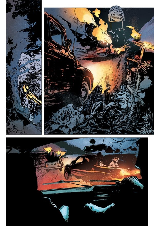 Beautiful Image Comics Is Pleased To Reveal A Selection Of Preview Pages From Winnebago Graveyard 1, Set To Hit Stores This June In Winnebago Graveyard 1, An American Family Traveling On Vacation Finds Themselves Stranded In A Small