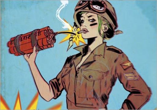 Tank Girl : World War Tank Girl #2