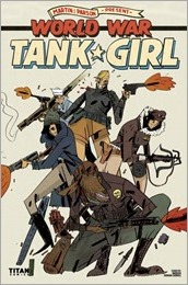 Tank Girl : World War Tank Girl #2 Cover D - Cadwell